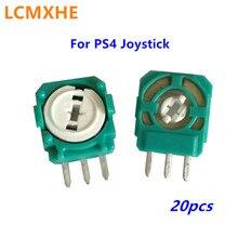 Mando analógico 3D para PS4, módulo de potenciómetro, resistencias de eje, repuesto de microinterruptor, 20 Uds.