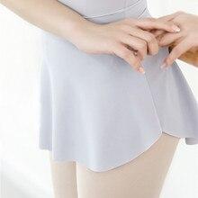 10 цветов, балетная юбка, танцевальное балетное платье, женское трико с юбкой, с разрезом по бокам, сексуальная тренировочная юбка, балерина, танцевальная одежда для девушек