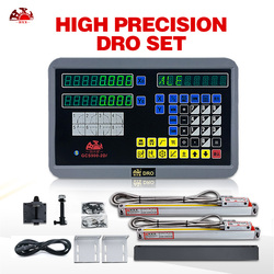 Multi-funcional sensor de deslocamento digital readout 2 eixo dro para a máquina de trituração do torno com escalas lineares de 5u