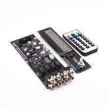 Montage CS3310 Remote Vorverstärker Bord Mit VFD Display 4-weg Eingang HiFi Preamp Fernbedienung Digital Volume Control Board