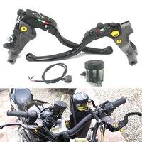 Motorcycle 7/8 Brake Clutch Master Cylinder Hydraulic Pump Lever For Yamaha Suzuki Honda KTM 22mm Handle 400c.c. to 1000 c.c