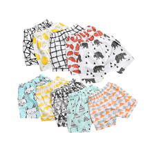 Girls Shorts Pants Clothing Summer Kids Cotton Children Fashion Cartoon Lattice