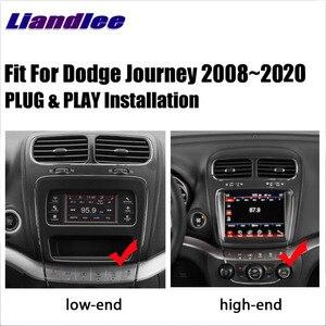 Автомобильный Радио мультимедийный плеер для Dodge Journey 2008 ~ 2020 2 din Android Авторадио GPS CD DVD НАВИГАЦИЯ карты Carplay DSP HD экран