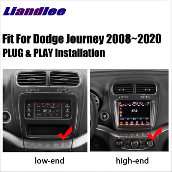 Car Radio Multimedia Player For Dodge Journey 2008~2020 2 Din Android Autoradio GPS CD DVD Navigation Maps Carplay DSP HD Screen image