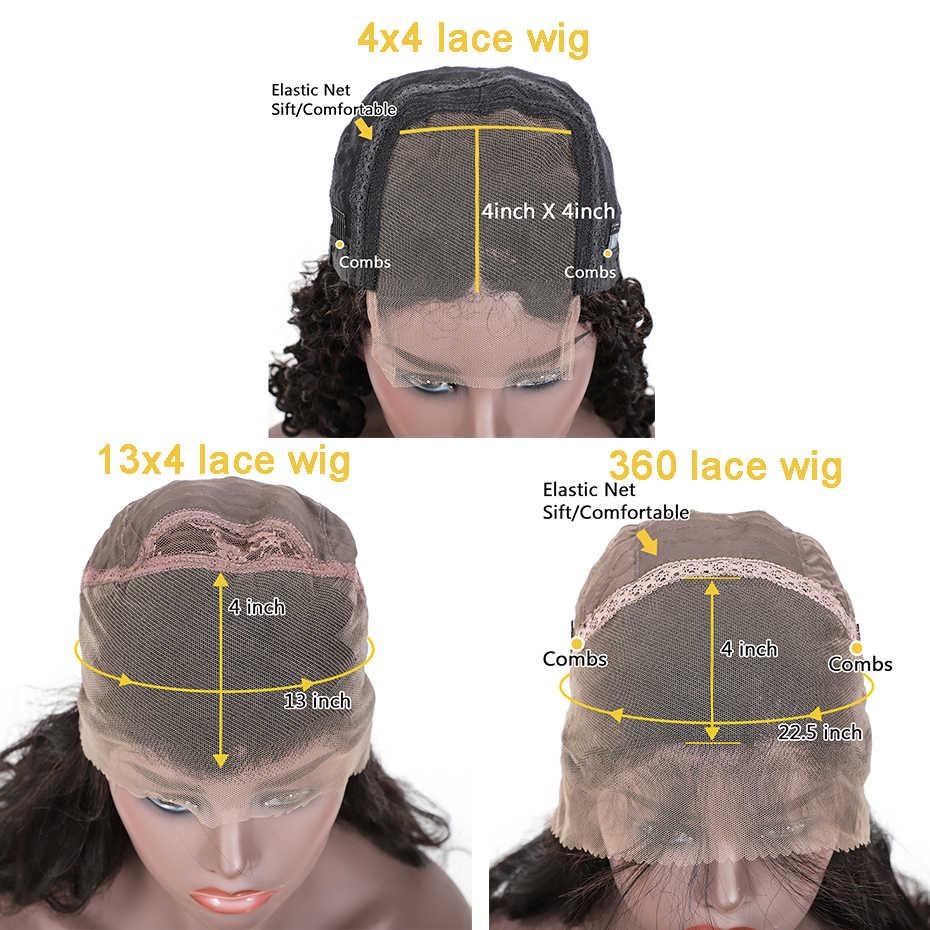 Прямой бразильский парик из натуральных волос для черных женщин 360 предварительно сорванных человеческих волос парики с кружевным фронтом Детские волосы парик remy