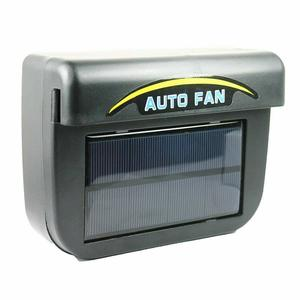High Quality Car Auto Fan Air Black Solar Energy Vent Cool Cooler Ventilation System Purify Air Radiator Car Window Cooling Fans(China)
