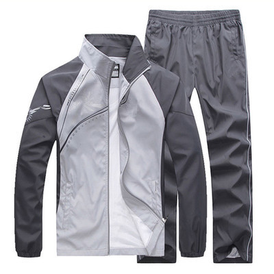 6869 Couples Sports Set Men's Casual Coat Sports Clothing Spring Men Outdoor Running Clothing Spring And Autumn WOMEN'S Dress