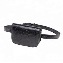 waist bag fanny pack for women  chic fashionable waterproof sport leather