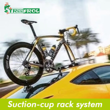 Bike-Carrier Bicycle-Rack Roof-Top Treefrog MTB Vacuum-Suction Qr Road-Axle Cars Car-Quick-Installation