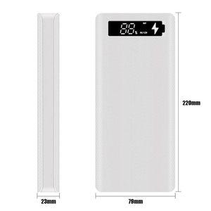 Image 3 - QC3.0 écran LCD bricolage 10x18650 boîtier de batterie coque de batterie externe boîte de Charge rapide PXPE