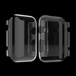 Case Snap-On Tpu-Protection Smart-Watch Crystal-Clear Apple Built-In-Screen Soft