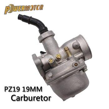 цена на Motorcycle Hand Choke PZ19 19mm Carburetor Carb For 70cc 90cc 110cc Pit Dirt Bike ATV Quad Motocross Enduro Off road