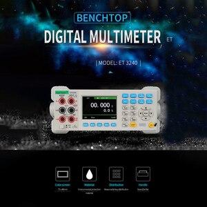 Image 5 - ET3240 Automatico 22000 Conti Multimetro Da Banco Digitale con 3.5 Pollici TFT di Grandi Dimensioni Dello Schermo di Alta Precisione Del Desktop Multimetro