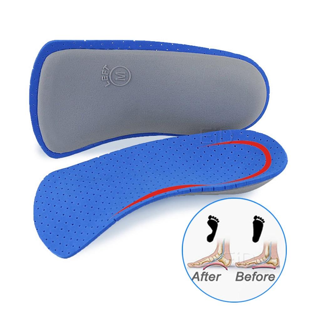 EVA Herren Damen Einlegesohle Erwachsene Plattfuß Fußgewölbe Orthesen Breathable