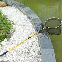 Red de inmersión de pesca plegable enlace contratado caña de pescar suministros de pesca círculo de aleación de aluminio|Reflectores| |  -