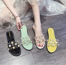 Women Summer New Sandals Flat Heel Rivet Platform Peep Toe Ankle Buckle 2020 Fashion Punk Beach Ladies Shoes Zapatos De Mujer wetkiss 2018 summer women flat wedges sandals soft leather ladies shoes female fashion open toe footwear buckle strap punk rivet