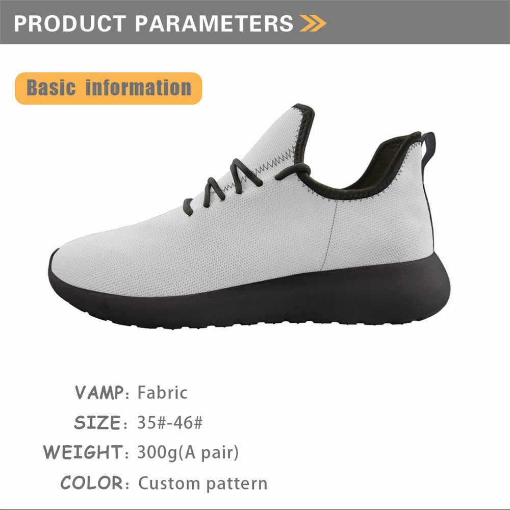 Elviswords Nieuwe Mannen Platform Gevulkaniseerd Schoenen Afrikaanse Etnische Gedrukt Op Vraag Comfortabele Zwarte Bodem Breien Mesh Sneakers