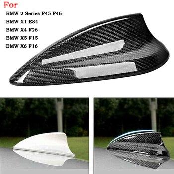 Cubierta de antena de aleta de tiburón de fibra de carbono para BMW F45 E84 X4 F26 X5 F15 X6 F16