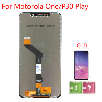 For Motorola Moto One P30 Play XT1941-1 XT1941-3 XT1941-4 LCD Display With Touch Screen Assembly for Motorola One LCD Display image
