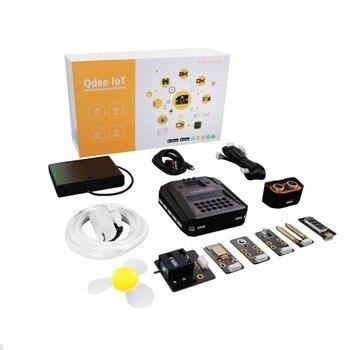 Kit Qdee IoT para programación gráfica de Control remoto versión estándar con Microbit Tablero Principal