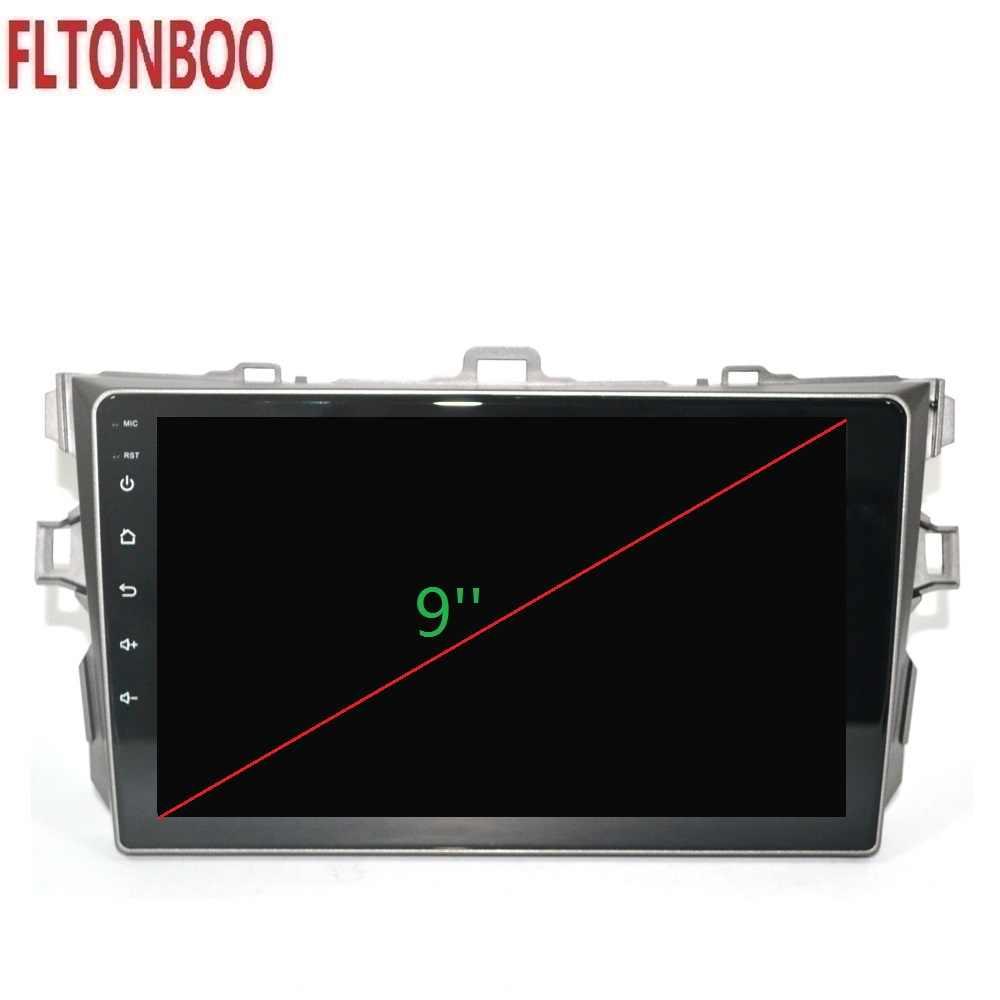 """9 """"Android 9 Auto radio Multimedia GPS Navigatie voor TOYOTA COROLLA, WIFI, stuurwiel, kaart"""