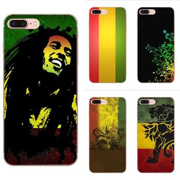 Reggae Rasta para Apple iPhone 4 4S 5 5C 5S SE SE2020 6 6S 7 7 8 11 Plus Pro X XS X Max XR suave TPU carcasa móvil
