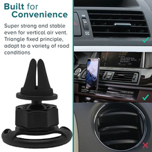 цены Car Mount Clip Air Outlet 360 Degrees Rotation Portable Cross-shaped Clip Airbag Bracket for Pop Stand Socket