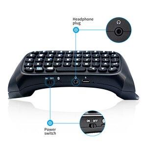 Image 2 - DOBE بلوتوث لوحة المفاتيح لوحة المفاتيح لسوني بلاي ستيشن 4 Mini Btv اللاسلكية لوحة المفاتيح عصا التحكم غمبد ل PS4 تحكم الملحقات