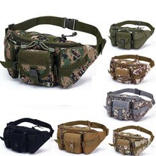 1PC Mens Military Cycling Waist Fanny Pack Bum Belt Bag Pouch Travel Hip Purse A