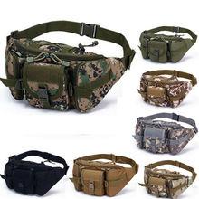 1шт мужские военный Велоспорт талии Фанни пакет бум ремня сумка для путешествий хип кошелек
