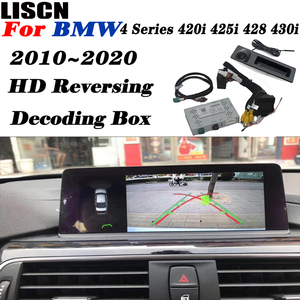 BMW 4 시리즈 420i 425i 428 430i 2010 ~ 2019/인터페이스 어댑터 반전 카메라/백업 카메라/OEM 모듈 키트 개선
