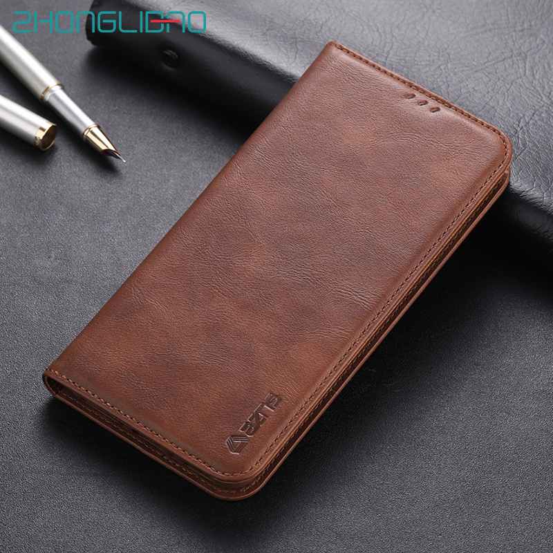 Card Holder Wallet Flip <font><b>Case</b></font> for <font><b>Iphone</b></font> 11 Pro Xs Max X Xr 7 <font><b>8</b></font> 6S 6 s <font><b>Plus</b></font> <font><b>Leather</b></font> Soft Skin Silicone Magnetic Stand Book Cover image