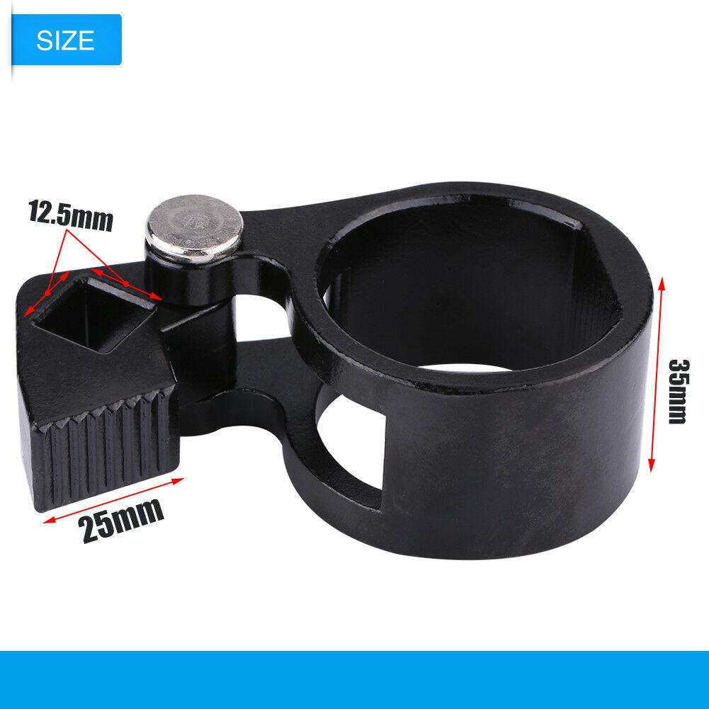 Adeeing Universal Car SUV Tie Rod End Remover Removal Wrench Tool 27mm 42mm Black Car Repair Tool