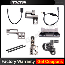 Tilta Accesorios de jaula de TA T17 A G para SONY A7/A9, soporte de varilla individual, accesorio de abrazadera HDMI, Cable de funcionamiento/parada, HDMI a Micro HDMI