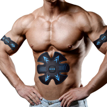 EMS Trainer Myostimulator Muscle Wireless Electric abs Stimulator Weight Loss Stickers Body Slimming Belt Massager