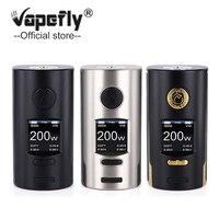 Original Vapefly Kriemhild 200W TC Box Mod power by 18650/20700/21700 Battery Output 200W TC/VW/Curve Vape Mod E Cigarette