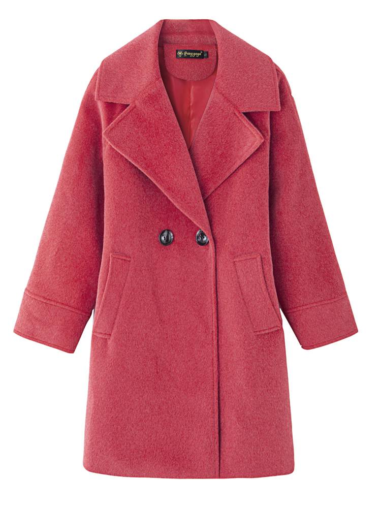 Women S Jacket Black Wool Coat Plus, Red Trench Coat Women S Plus Size