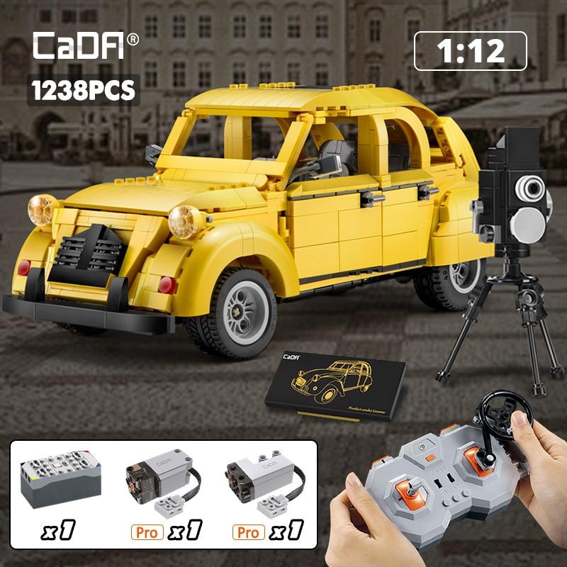 Cada C61026W C55021W City RC Classic Retro Sports Car
