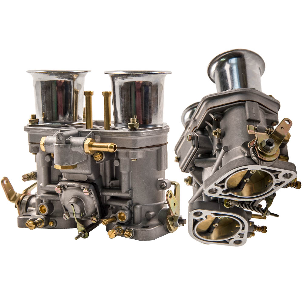 2x Carburettor Carb 48 IDF With Air Horns for Fiat for Porsche Idle 60 Dif 40