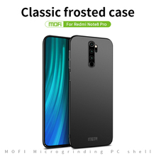 MOFI For Xiaomi Redmi Note 8 Pro Case Frosted PC Ultra thin Full Coverage Back Cover Case Shell for Xiaomi Redmi Note 6 Pro Case