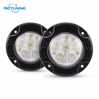 MICTUNING 7'' Upgraded Car LED Driving H4 Headlights 10 30V 6000K Highspeed Spot Combo Lamps
