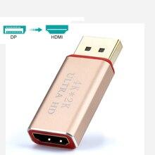 4K дисплей порт мужчин и HDMI Женский 30 адаптер HZ конвертер Дисплей Порт DP к HDMI