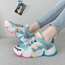 Women Chunky Sneakers Brand Designers INs Fashion Woman Casual