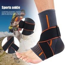 Популярные спортивные ноги Лодыжка защитный наколенник сжатия Поддержка подошвенный фасциит голеностопники MVI-лепно