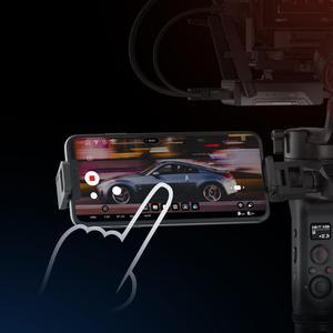 Image 3 - ZHIYUN Offizielle Weebill S Handheld Gimbal 3 Achse Bild Übertragung Stabilisator für Spiegellose Kamera OLED Display Neue Ankunft