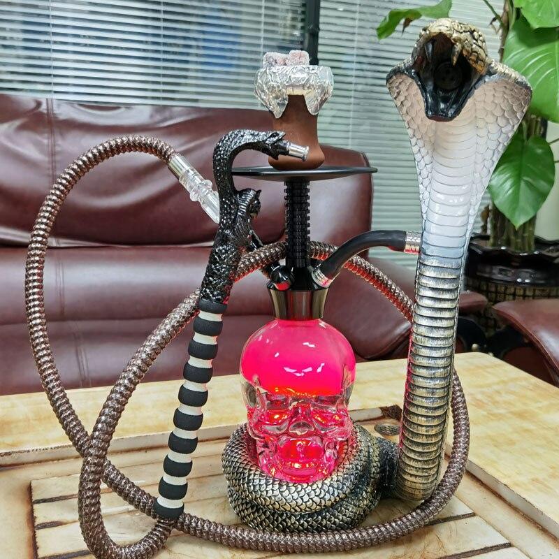 Rainbow glass Kerosene lamp water pipes Hookah Smoking Herb Tobacco Pipes