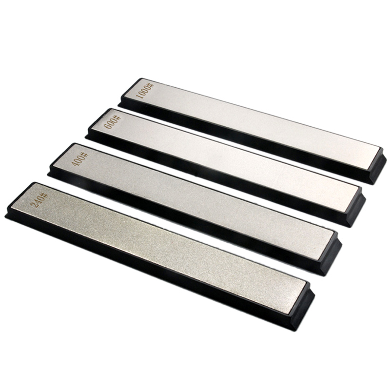 <font><b>240</b></font> 400 <font><b>600</b></font> <font><b>1000</b></font> Grain <font><b>Diamond</b></font> Sharpening Angle Grindstone Sharpening Professional Sharpener Tool Bar 4 Pack image