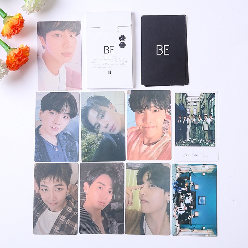 Kpop Bangtan Boys новый альбом BE Lomo Box набор маленьких карт все стили коллективные благословения Kpop аксессуары фотооткрытки