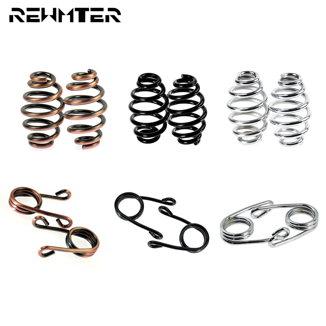 Motorcycle Solo Seat Springs Mounting Saddle Seat Spring For Harley Sportster Softail XL 883 1200 Dyna Fatboy Bobber