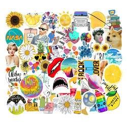 45 шт./лот внешняя космическая тема различных стилей ПВХ наклейки детские игрушки декор для автомобиля подставка для ноутбука телефон